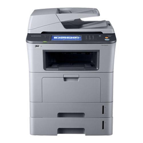 Absolute Toner Samsung SCX-5835FN Monochrome Multifunction Laser Printer, Small Commercial Large Toner 2 Trays For Office Showroom Monochrome Copiers