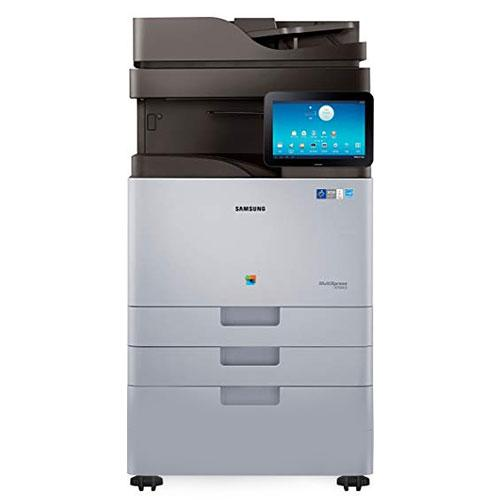 REPOSSESSED Samsung MultiXpress SL-X7400LX Color Laser Multifunction Printer Copier Scanner 11x17 - Only 6k Pages
