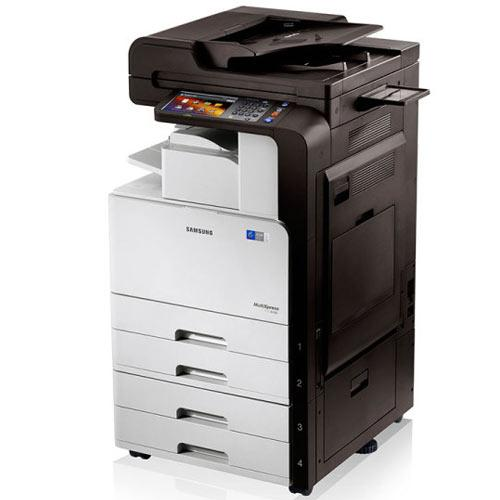 Absolute Toner $29.95/month - Samsung SCX-8128NA 8128 Black and White Printer Copier Color Scanner 11x17 Pre Owned Showroom Monochrome Copiers