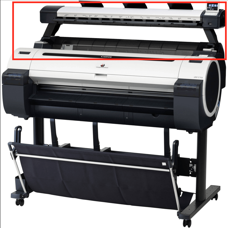 "Absolute Toner 36"" Scanner l24ei Used For Canon ImagePrograf IPF770 Wide Format Printer or as a sta Canon Scanner"