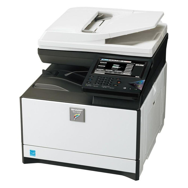 Absolute Toner Sharp MX-C301W A4 Desktop Color Laser Multifunction Printer, Copier, Scanner - $35/month Showroom Color Copiers