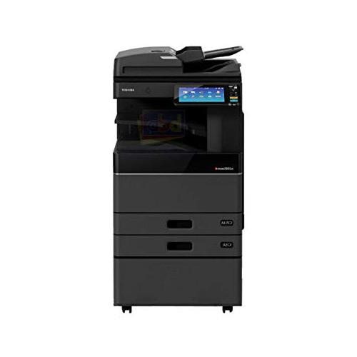 Absolute Toner $59/Month Toshiba e-STUDIO 4505AC Color Multifunctional Photocopier 11X17 45PPM Office Copiers In Warehouse