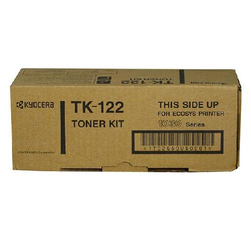 Absolute Toner Genuine Original Kyocera Mita TK-122 Black Laser Toner Cartridge Kyocera Mita Compatible Toner Cartridge