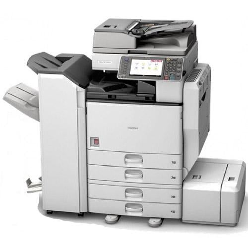 Absolute Toner Pre-owned Ricoh MP C4502A 4502 Color Laser Multifunction Printer Copier Scanner Fax Stapler 11x17 Office Copiers In Warehouse