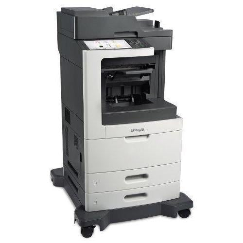 $49.50/Month only Lexmark MX811de Monochrome Laser Multifunction Printer Brand New Repossessed in a box