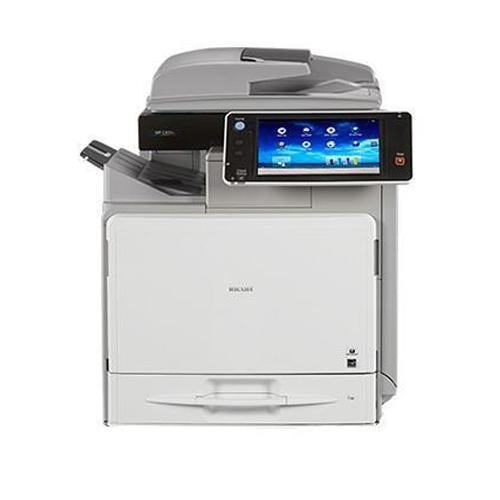 Absolute Toner Repossessed Ricoh MP C401 Color Laser Multifunction Printer 42 PPM Showroom Color Copiers
