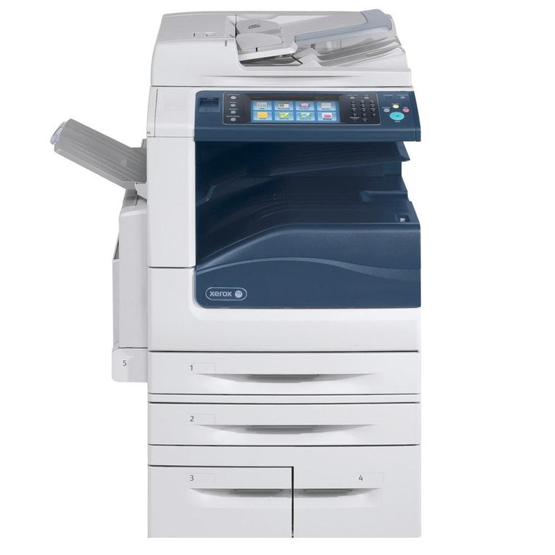 Absolute Toner Xerox WorkCentre 7855 Black & White Color Multifunctional Printer Copier Scanner For Business, WC7855 | Production Printer - $65/Month Showroom Monochrome Copiers