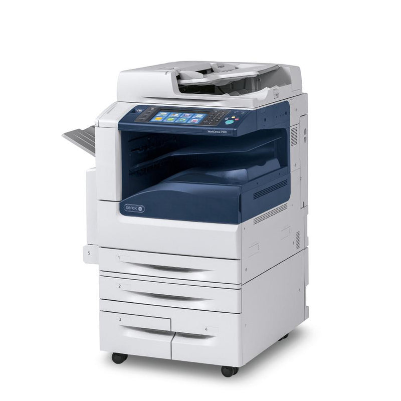 Absolute Toner $75/month - Xerox WorkCentre 7970 WC 7970 Color Multifunction Printer Copier - Only 5.5k Pages Printed Showroom Color Copiers