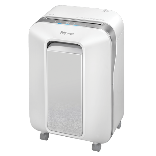 Absolute Toner Fellowes Powershred LX200 Micro-Cut Shredder (White) Shredders