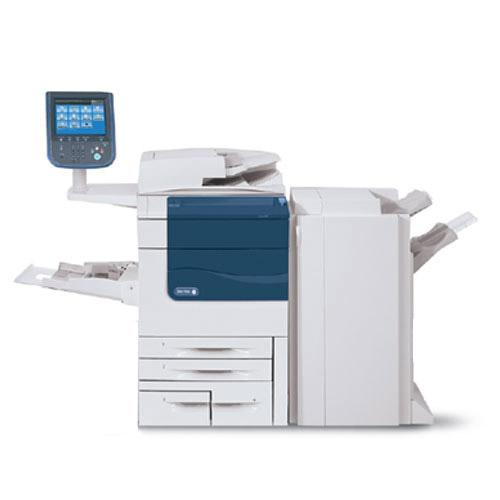 REPOSSESSED Xerox Color 560 Digital Printer HIGH SPEED Copier Scanner Booklet Maker Finisher