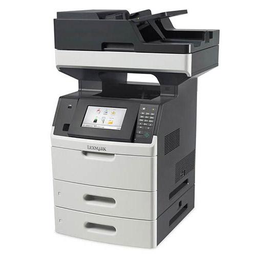 Lexmark XM5163 Multifunction Laser Monochrome Printer Copier Color Scanner Pre Owned