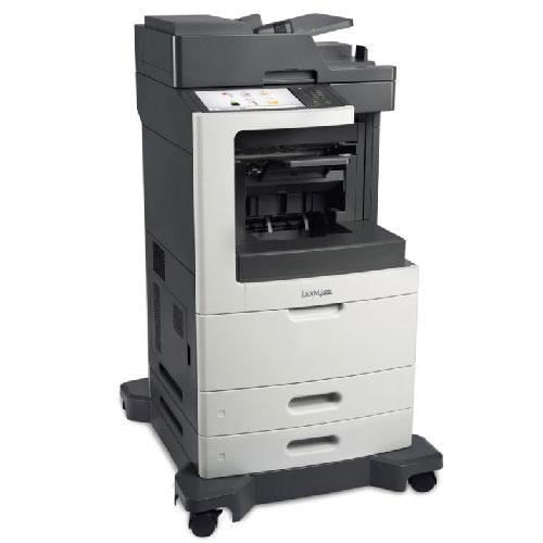 Absolute Toner Pre-owned Lexmark XM7155 Laser Monochrome Printer Copier Color Scanner 55PPM Office Copiers In Warehouse