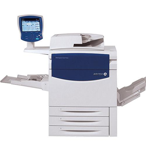 Only $157/month - Xerox Color C75 Press Production Printer Business Copier Large Capacity Tray Booklet maker Finisher
