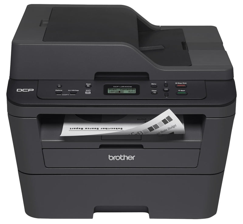 Brother DCP-L2540DW Monochrome Laser MFC Printer - Refurbished