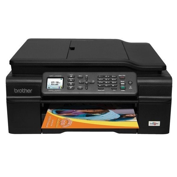 Brother factory refurbished MFC-J475DW Inkjet Color Printer Plus Full extara Set of Inks (NOT STARTERS) Total 8 Cartridges