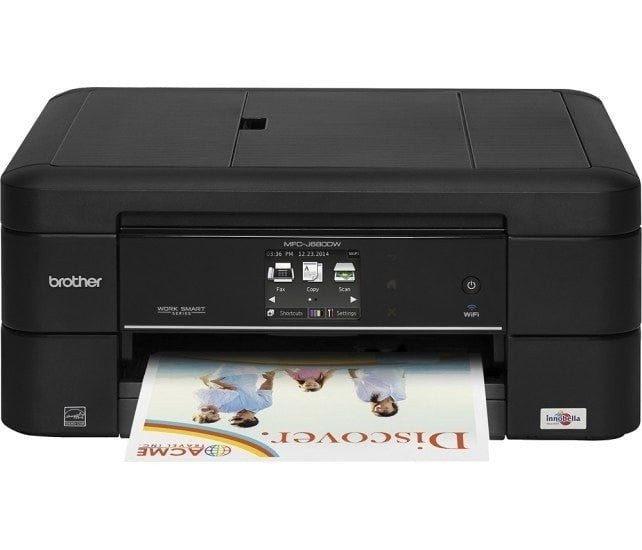 Brother MFC-J680DW All-in-One Wireless Color Inkjet Printer with Touchscreen