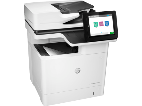Absolute Toner HP Laserjet Enterprise MFP M632h Monochrome Mutifunction Laser Printer Scanner Office Copier Laser Printer