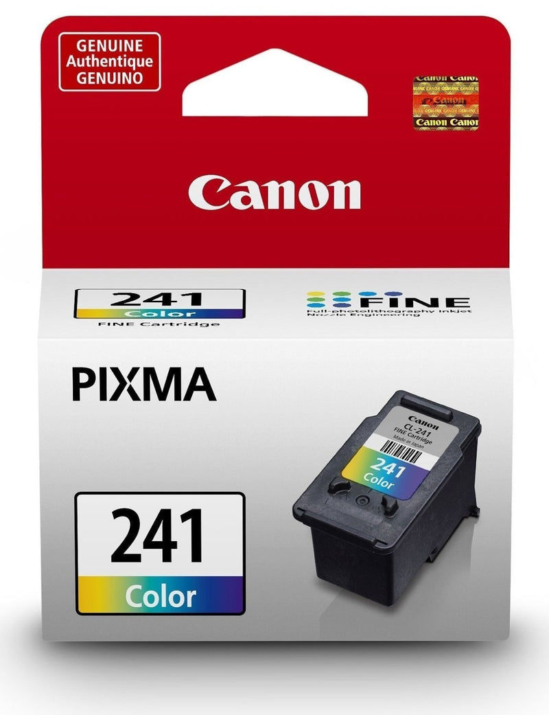 Canon CL-241XL OEM High Yield Tri-Color Ink Cartridge (5208B001)