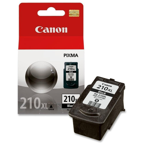Canon PG-210XL OEM High Yield Black Ink Cartridge