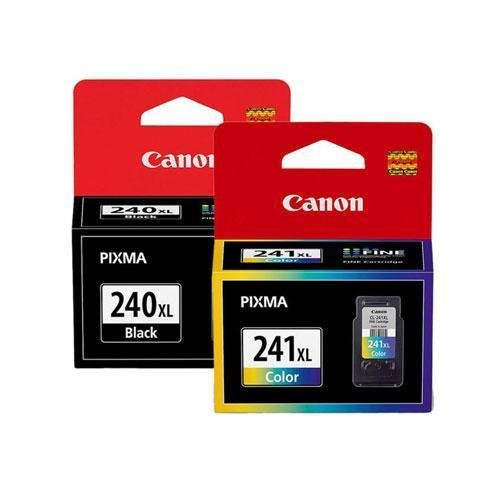 Absolute Toner Canon PG-240XL CL-241CXL Original Ink Cartridge Combo (Black Tri-Color) Canon Ink Cartridges