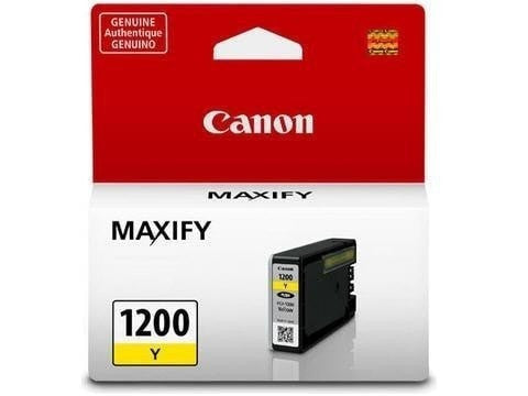 Canon PGI-1200 OEM Yellow Ink Tank Cartridge (9234B001)