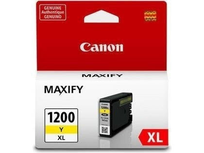 Canon PGI-1200XL OEM High Yield Yellow Ink Tank Cartridge (9198B001)