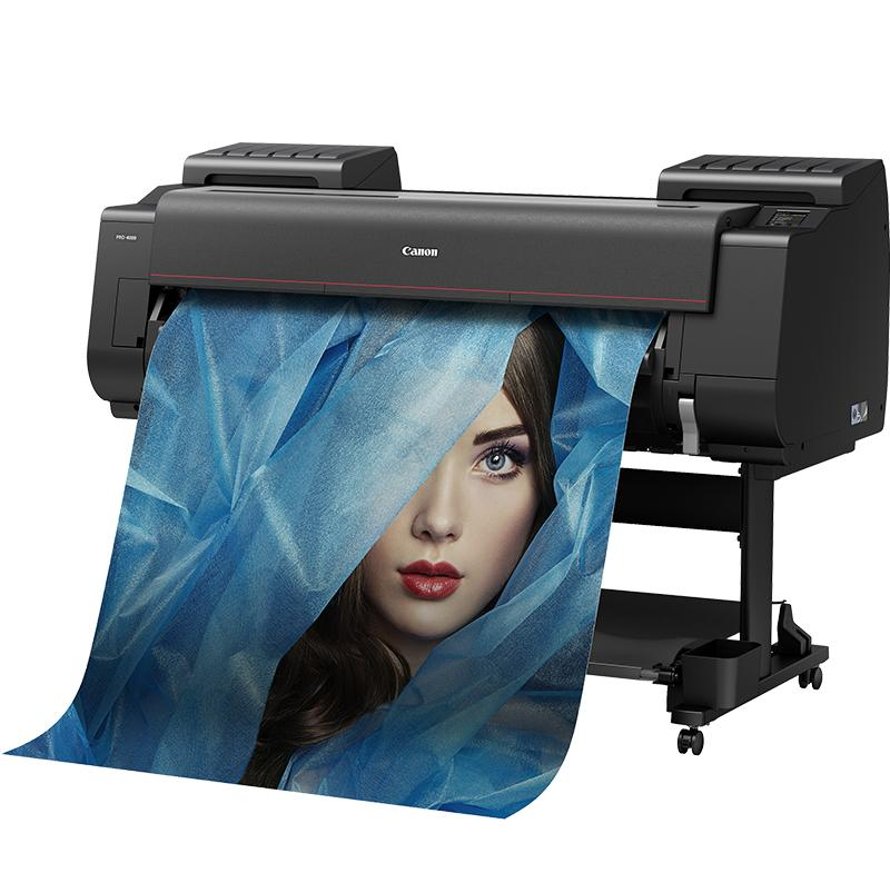 "Lease To Own: Canon 44"" ImagePROGRAF PRO-4000S Graphic Color Large Format Printer"