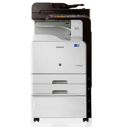 Absolute Toner $ 65 / Month New Repossessed - Samsung CLX-9301NA C9301 MultiXpress Color Laser Printer Copier Scanner 11x17 Pre Owned Showroom Color Copiers