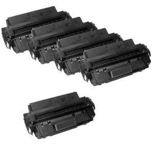 Compatible for Canon FX7 Black Toner Cartridge Package of 5 (7621A001AA) CANONFX7 FX-7