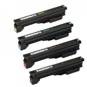 Compatible for Canon GPR 20 21 Toner Cartridges Combo (Black, Cyan, Magenta, Yellow)