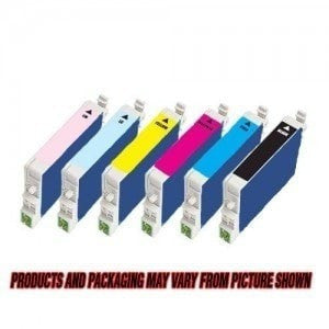 Compatible for Epson T048120 T048220 T048320 T048420 T048520 T048620 Ink Cartridges Package