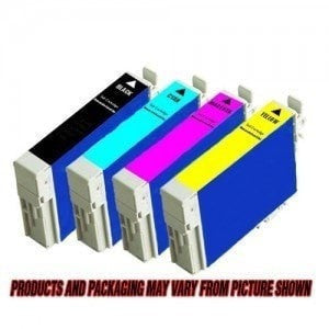 Compatible for Epson T088120 T088220 T088320 T088420 Ink Cartridges Package