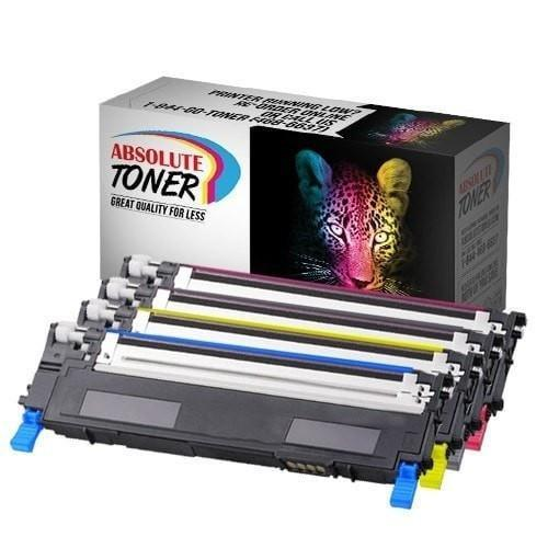 Dell 330-3012 3013 3014 3015 Compatible Toner Combo of 4 (Black, Cyan, Magenta, Yellow)