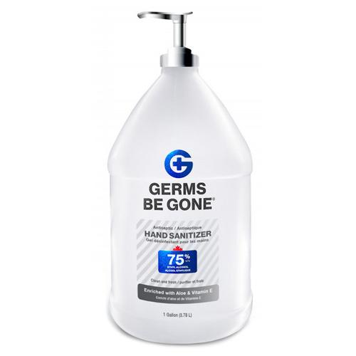 Absolute Toner From $29.98 - Germs Be Gone® (1 Gallon) 3.78 Liter- 75% Alcohol, Aloe and Vitamin E Health CANADA Approved - GEL Hands Sanitizer Sanitizer