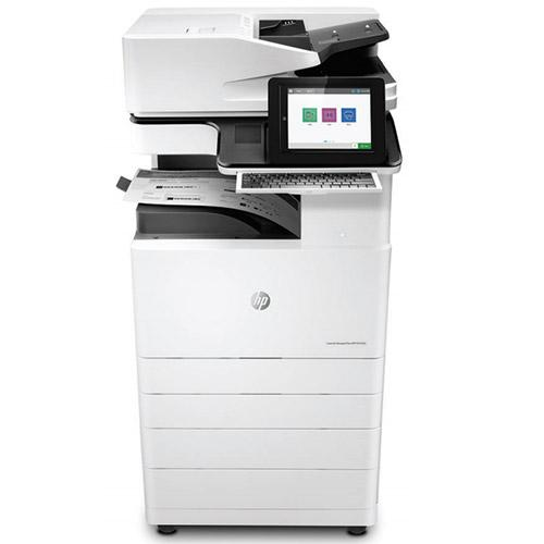 Only 6k pages HP LaserJet Managed MFP E72535 Black and White Printer Copier 11x17