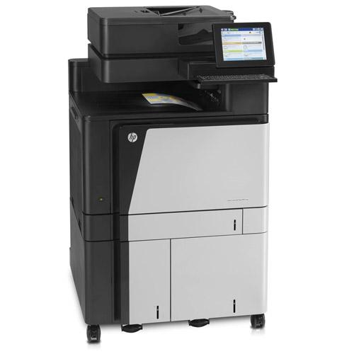 Absolute Toner $35/Month HP Color LaserJet Enterprise Flow M880z Multifunction Printer Showroom Color Copiers
