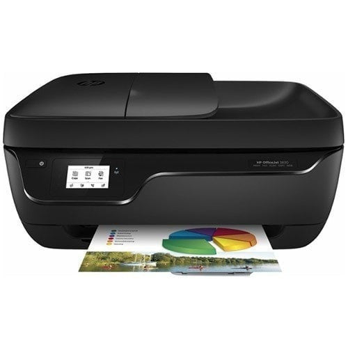 HP OfficeJet 3830 All-in-One Color Printer - Print, Scan, Copy, and Fax