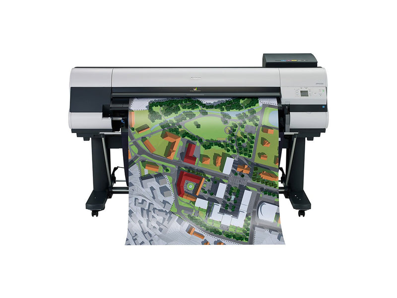 "Absolute Toner Lease To Own: 44"" Canon ImagePROGRAF iPF830 Graphic Color Large Format Printer with Scanner Large Format Printer"