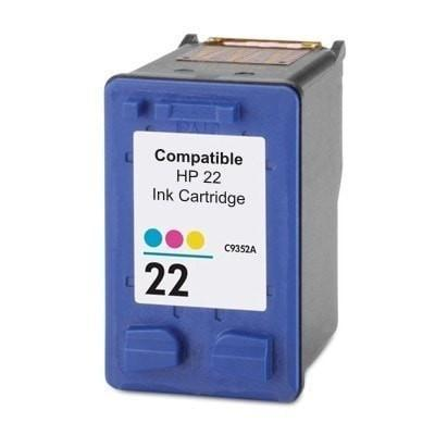 Ink Cartridge Compatible HP 22 Tri-Color (C9352AN)
