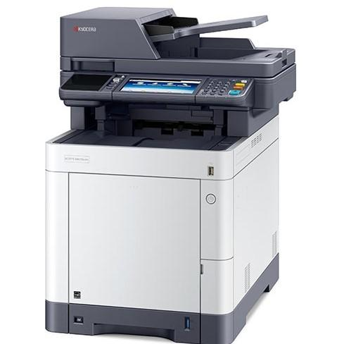 Absolute Toner Kyocera ECOSYS M6535CIDN M6535 Color Multifunction Printer Copier Scanner Office Copiers In Warehouse