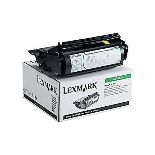 Lexmark 12A0825 OEM Black Toner Cartridge