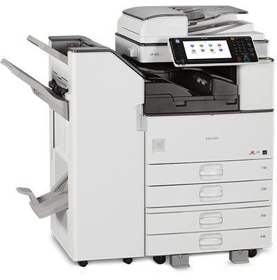 Absolute Toner $65/month only Ricoh MP 3053 High Speed Black White Multifunction Copier Printer 11x17 Lease 2 Own Copiers