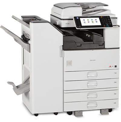 Absolute Toner Only $85/month Ricoh MP 3353 B/W Multifunction for ALL INCLUSIVE service Program Copier Great Solution for a low-Mid printing Volume Lease 2 Own Copiers