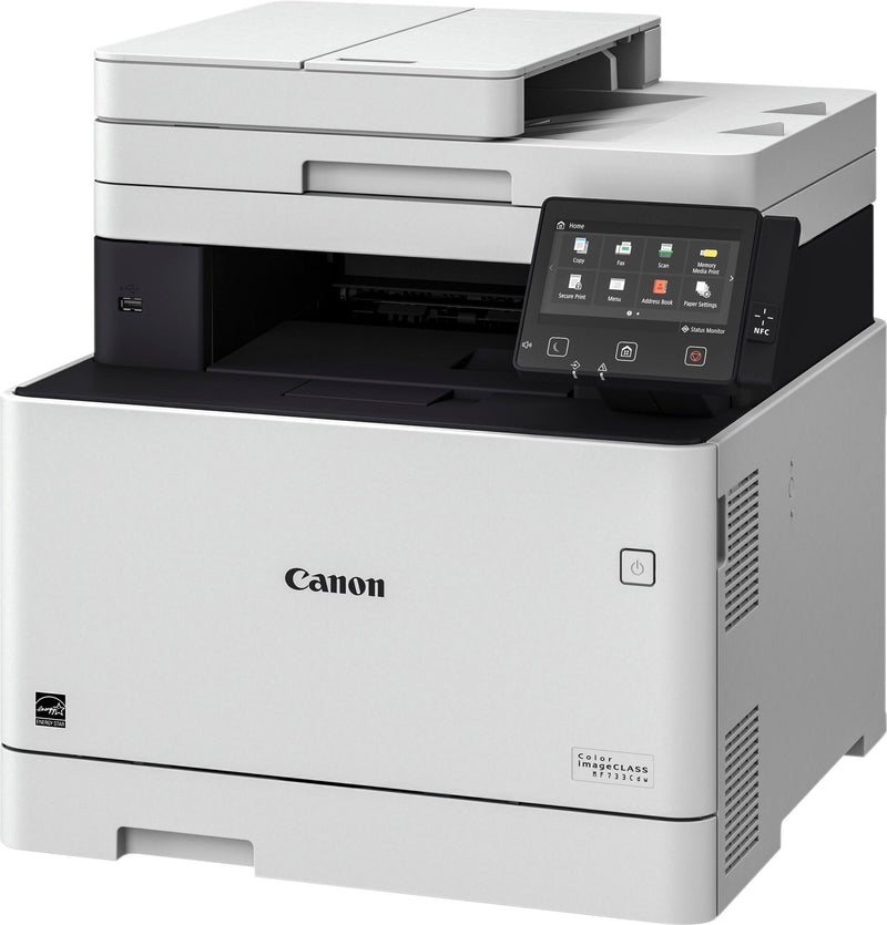 Absolute Toner Canon imageCLASS MF MF733Cdw Laser Multifunction Printer - Color Showroom Color Copiers