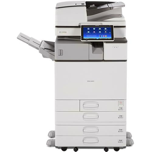 Absolute Toner $67.43/month - Ricoh MP C4504 45PPM Colour Multifunction Office Laser Printer Copier Scanner, 11x17, 12x18, 300gsm, One-Pass Duplex, 180ipm Lease 2 Own Copiers