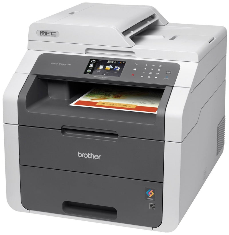 New Brother MFC-9130CW Colour Laser Printer + 1 FREE Black Toner
