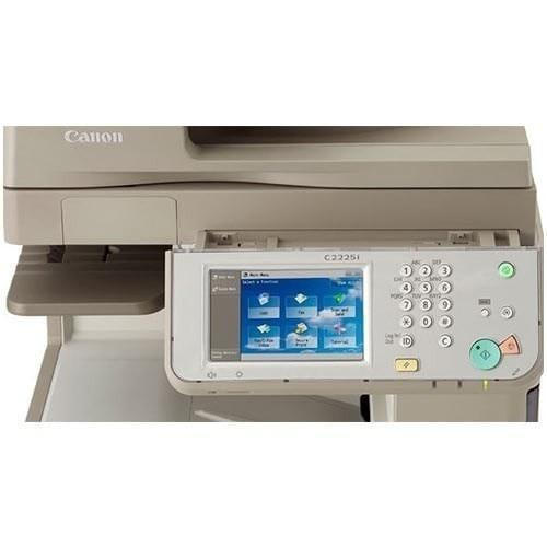 Pre-owned Canon imageRUNNER ADVANCE C2225i C2225 Color Printer Copy Machine Scanner Copier REPOSSESSED 44k Pages