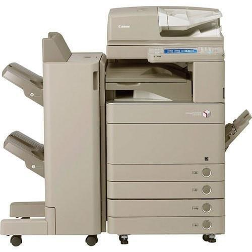 Absolute Toner Pre-owned Canon imagerunner ADVANCE C5035 IRA C5035 Color Copier Printer Scanner External Finisher 11x17 Showroom Color Copiers