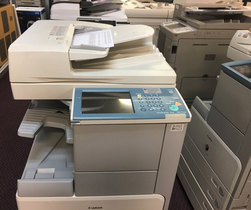 Pre-owned Canon ImageRUNNER IR 3230 3230i Monochrome Copier Printer Color Scanner Fax 11x17 Copy Machine