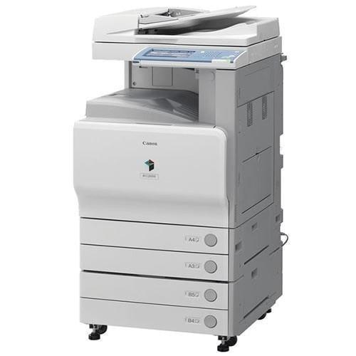 Absolute Toner Pre-owned Color Copier imageRUNNER C2550 IRC2550 IR-2550 Printer Scanner Photocopier Scan to email Color Office Copiers